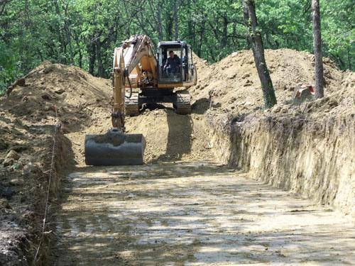 Travaux de terrassement en haute garonne 31 bdpc for Terrassement et fondation